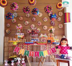 Festa Junina By Mimou Gifts e Festas – Blog Inspire sua Festa