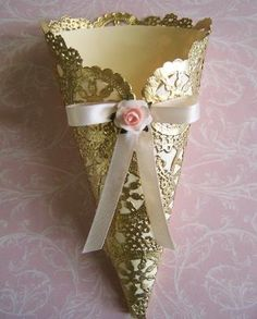 Petal Cones Exclusive to GirlyBows.com Available by custom order request