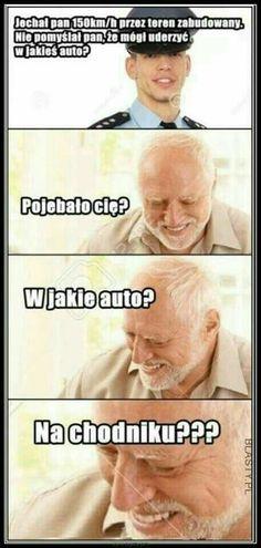 panie, no jak to? Best Memes, Dankest Memes, Wtf Funny, Hilarious, Funny Images, Funny Pictures, Brain Meme, Polish Memes, Weekend Humor