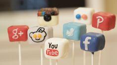 Social Media Cake Pops, by Rosanna Pansino ♥ Nerdy Nummies on YouTube