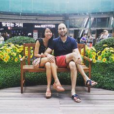 Un jardín en medio del centro comercial   #compras #flores #descubre #estilodevida