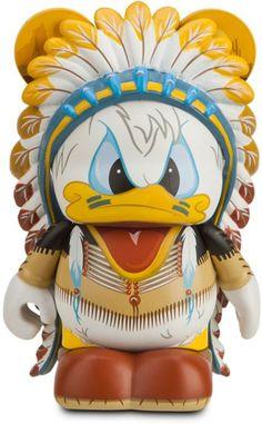 "Donald Duck - Disney Vinylmation 3"" Mickey's Wild West Series Designer Figure"