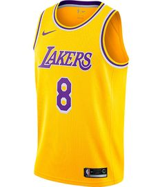 Men s Nike Los Angeles Lakers NBA Kobe Bryant Icon Edition Connected  Jersey. Regata NikeMasculinoNike ... 775974b15be