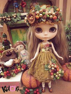 No.4 Pixxy fairy custom blythe doll. | por Kuloft