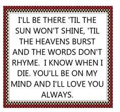 Bon Jovi - Always - song lyrics, songs, music lyrics, song quotes, music quotes