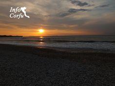 Sunset in Acharavi-Ηλιοβασίλεμα στην Αχαράβη www.Infocorfu.gr
