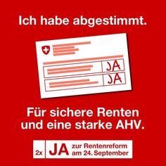 #av2020 #altersvorsorge2020 #september September, Politics