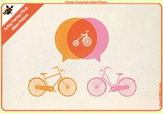 Bicycle poster from Allen Peters from deardrmox.com