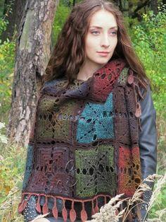This item is unavailable Crochet Shawl, Hand Crochet, Hand Knitting, Knit Crochet, Crochet Summer, Crochet Woman, Crochet Accessories, Wool Yarn, Crochet Patterns