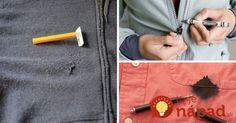 Aj keď máte pocit, že vaše obľúbené oblečenie je nadobro zničené, ukážeme vám, ako jednoducho ho môžete zachrániť!