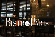 BISTRO DE PARIS Knokke #Prolicht #DARK