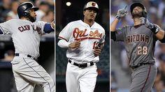 MLB: J.D. Martínez y Carlos Santana se encuentran entre los agentes libres aún disponibles