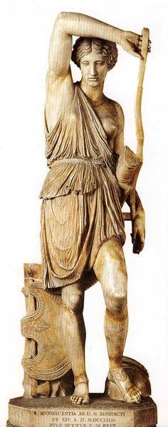 La Amazona Mattei (h.440-430 a.C). Museo del Vaticano, Roma. Arte griego.