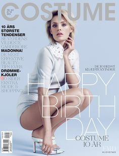 Cover of Costume Denmark with Leah de Wavrin, June 2012 (ID:12952)| Magazines | The FMD #lovefmd