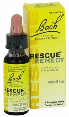 POPULAR: Bach Flower Remedies - Rescue Remedy 10 ml: Health & Personal Care