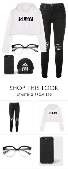 """""""simple"""" by reneemorrison7 on Polyvore   #sporty #casual #outfit #winter #adidas"""