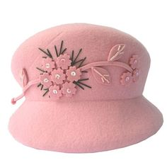 Women Black Wool Winter Warm Fashion Dress Derby Hat Formal Clothing  SKU-158265