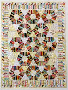 Selvage Blog: Love love love Karen Griska's latest quilt design! She prices her patterns reasonably at $5. Gonna start this weekend!