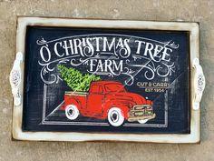 Customize your home decor with Chalk Couture this holiday season Christmas Qoutes, Christmas Rock, Christmas Tree Farm, Cricut Christmas Cards, Cricut Cards, Chalk Crafts, Paper Crafts, Christmas Decorations, Christmas Ideas