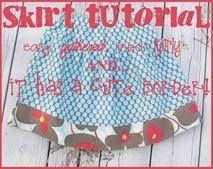 Skirt Tutorial: By Tammy