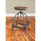 Found it at AllModern - Abbey Swivel Barstool