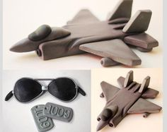 fondant sunglass tutorial for cupcakes - Google Search