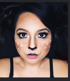 Deer makeup Halloween #doe