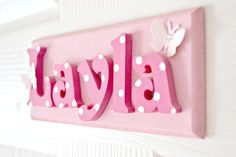 Layla's Baby Nursery Bedroom – Butterflies & Pink ‹ Leannes Blog ...