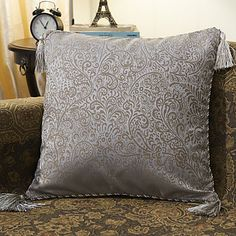 Traditional+Cotton+Jacquard+Decorative+Pillow+Cover+–+AUD+$+15.43