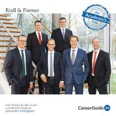 Rödl & Partner ist eine integrierte Beratungs- und Wirtschaftsprüfungsgesellschaft, die in 49 Ländern Mandanten aus den unterschiedlichsten Sektoren berät. Wenn du Wirtschaftswissenschaften oder Rechtswissenschaften studiert hast oder studierst, findest du bei Rödl & Partner vielfältige Einstiegsmöglichkeiten ins Berufsleben.