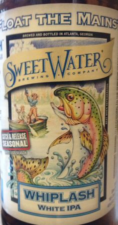 Sweetwater Whiplash Belgian IPA. Sounds delish Ipa Sounds, Water Company, Brewing, Delish, Beverages, Beer, Root Beer, Ale