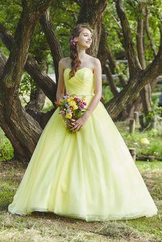 no.23768 - COLOR | 新宿でウェディングドレスをレンタルするならブライダルサロンHANA