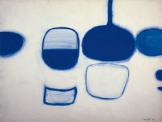 William Scott, Still Life with Frying Pan, 1970, Gouache on paper, 58 × 76.5 cm / 22¾ × 30 in, Private collection