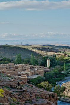 Berrem Gorge and Village, Morocco
