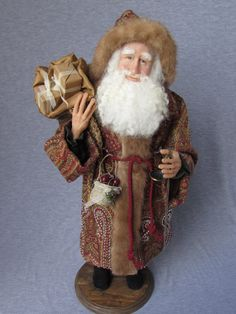 WhooooooHoooo!!! Santa is looking for you !!! Nonna's Santa Claus on Etsy  Handmade OOAK by NonnasSantas on Etsy