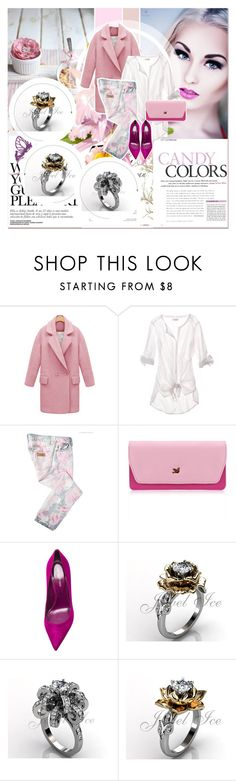 """""""# I/4 Jewelice"""" by lucky-1990 ❤ liked on Polyvore featuring American Eagle Outfitters, Just Cavalli and Sergio Rossi"""