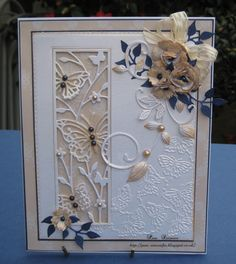 pamscrafts: Butterfly Panel.