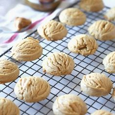 Biscoff Cloud Cookies are soft and thick, and made with the amazing taste of Biscoff Spread. Cloud cookies make the best afternoon snack or dessert! #biscoffcookies #cloudcookies #dropcookies #easysnacks #easycookierecipe #biscoffspread #cookies Cloud Cookie Recipe, Drop Cookie Recipes, Cookie Desserts, Fun Desserts, Dessert Recipes, Cookie Cups, Cookie Gifts, Candy Recipes, Dessert Ideas