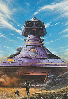 TIM WHITE - art for Revolt in 2100 by Robert A. Heinlein - 1977 New English Library