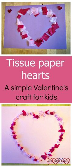Heart Symmetry Painting with Kids - Easy & Fun for Valentine\'s Day ...