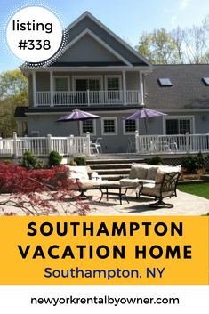 Enjoy the Hamptons on your next beach trip by staying in the Hamptons. Find affordable Southampton beach homes for your next vacation. New York Vacation, New York Travel, Vacation Rentals, Beach Fun, Beach Trip, Cool Places To Visit, Great Places, Fire Island New York, Southampton Beach