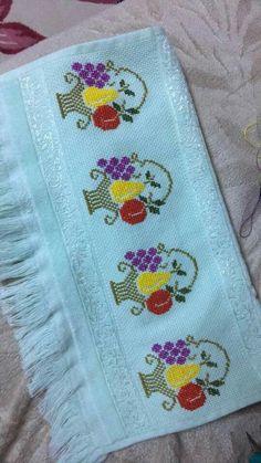 Nurşen Özdemir's media content and analytics Cross Stitch Borders, Cross Stitch Rose, Cross Stitching, Cross Stitch Patterns, Embroidery Works, Vintage Embroidery, Embroidery Patterns, Hand Embroidery, Vintage Birds