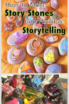 story stones storytelling ideas Mommy Labs
