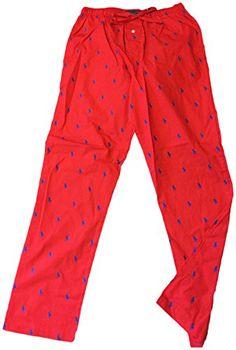 Polo by Ralph Lauren Mens 100% Cotton Allover Pony Sleep Pajama Red Small  Polo Ralph Lauren Pajama Pony  http://www.allsleepwear.com/polo-by-ralph-lauren-mens-100-cotton-allover-pony-sleep-pajama-red-small/