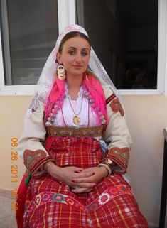 Albanian woman's costumes from Shestan