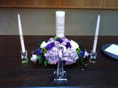 Unity candle floral 9-21
