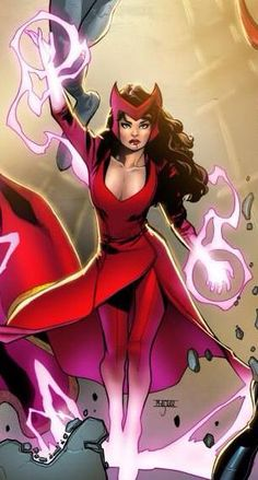 The Scarlet Witch, new costume