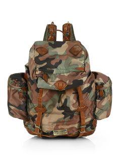 f629cdec5162 Polo Canvas Yosemite Backpack - Camo