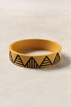 Mountain Perspective Bangle #anthropologie