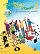 Alfred's Kid's Electric Guitar Course 1 (Book & Online Audio)